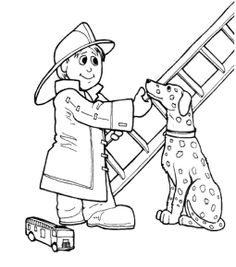 Firefighter clipart pekerjaan Dog Pinterest Page Page Fire