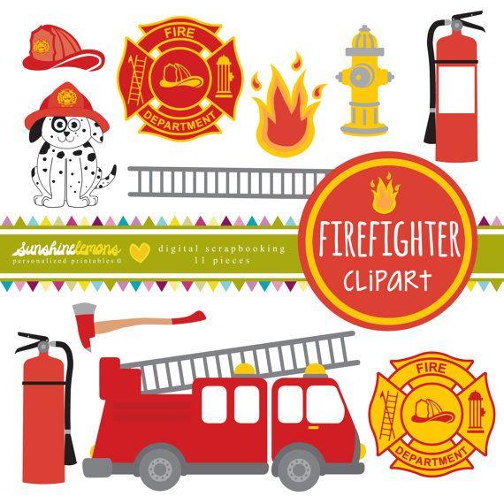 Firefighter clipart plane Firefighter Clipart Pinterest Digital of
