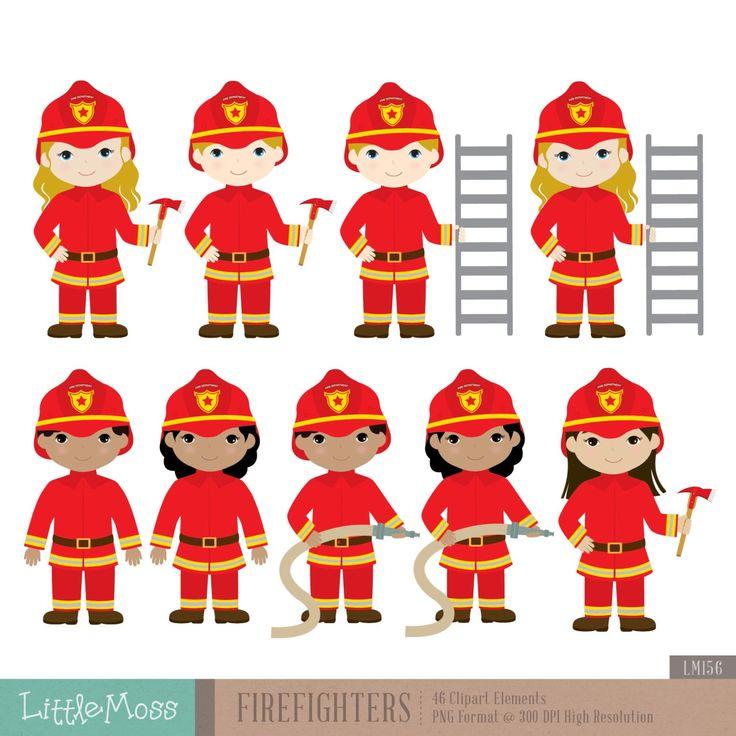 Firefighter clipart santa Firefighters best Clipart Pinterest Fireman