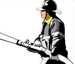 Firefighter clipart santa Free santa Fireman Fireman Clipart