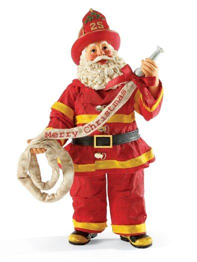 Firefighter clipart santa Holiday fighter/wife is Luckily best