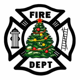 Firefighter clipart santa Christmas Photo Firefighter Firefighter Cutout