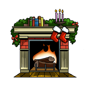 Fireplace clipart santa claus Fireplace%20pictures Panda Fire Fireplace Clipart
