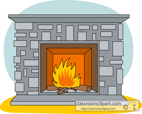Heat clipart red flame Clipartix Fireplace Free clipart 3