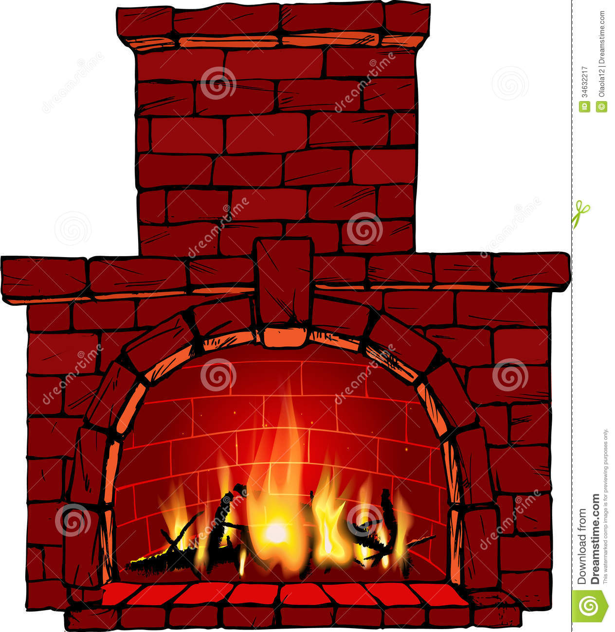 Fireplace clipart Fireplace Free cliparts Fireplace Clipart