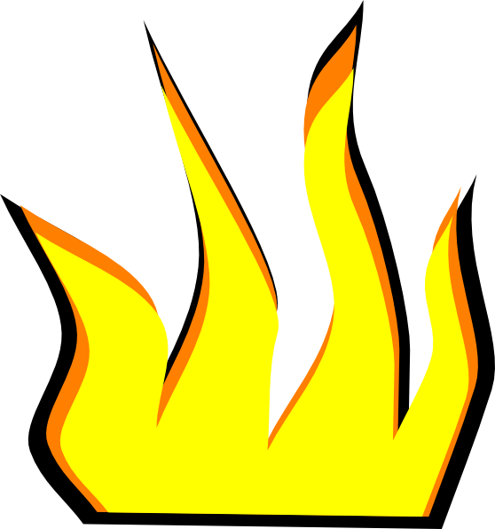 Flames clipart comic Flame Free Clipart Panda Clipart