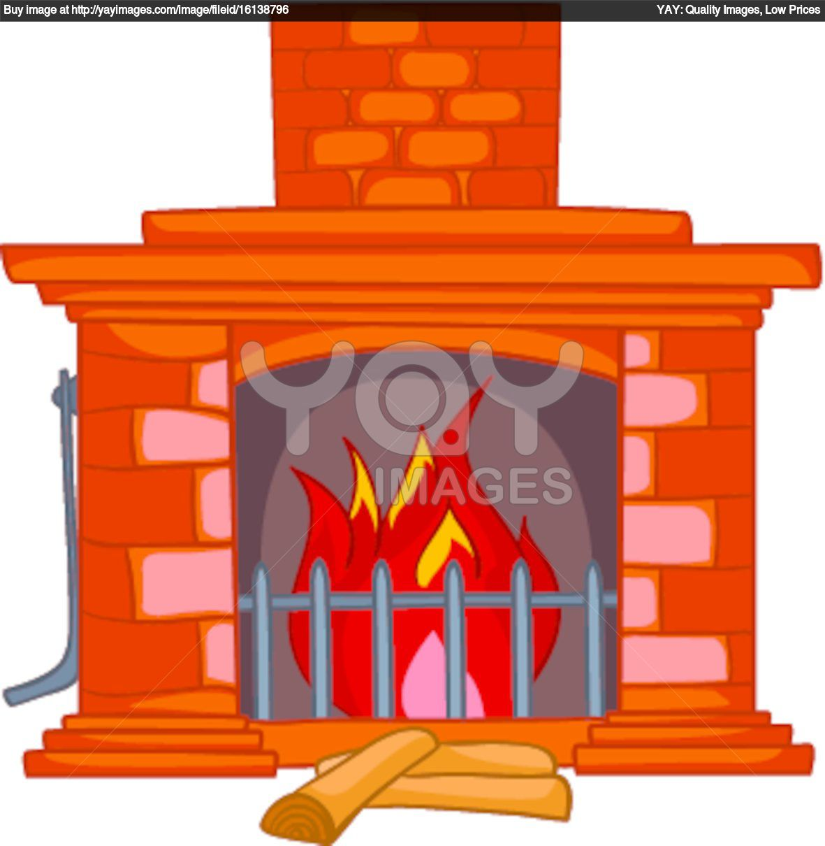 Brick clipart brick fireplace Fireplace Clipart Clipart Clipart Images