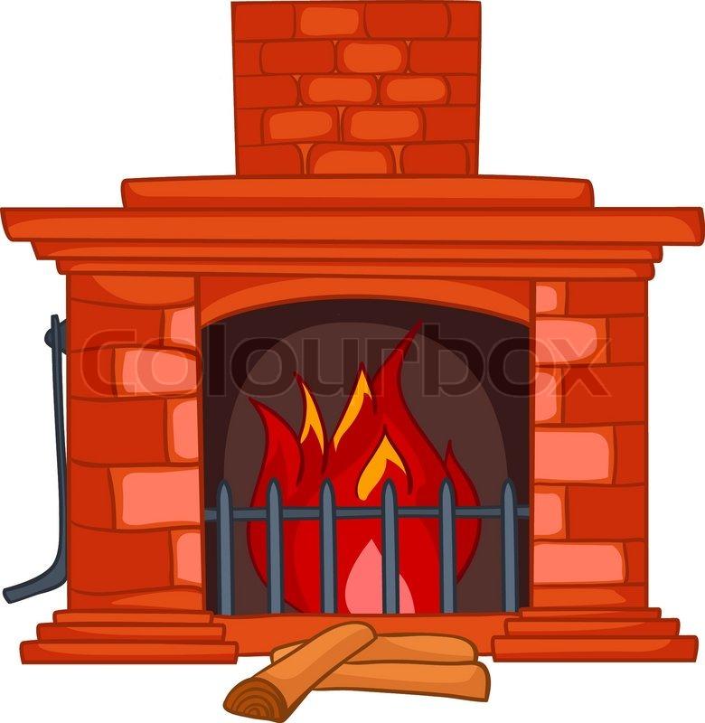 Heat clipart log fire Panda Cartoon Clipart Clipart cartoon%20fireplace