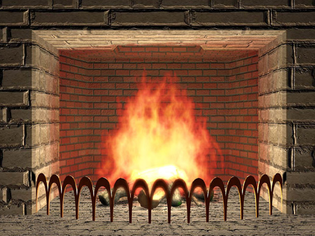 Heat clipart log fire #36600 kid Fireplace image and