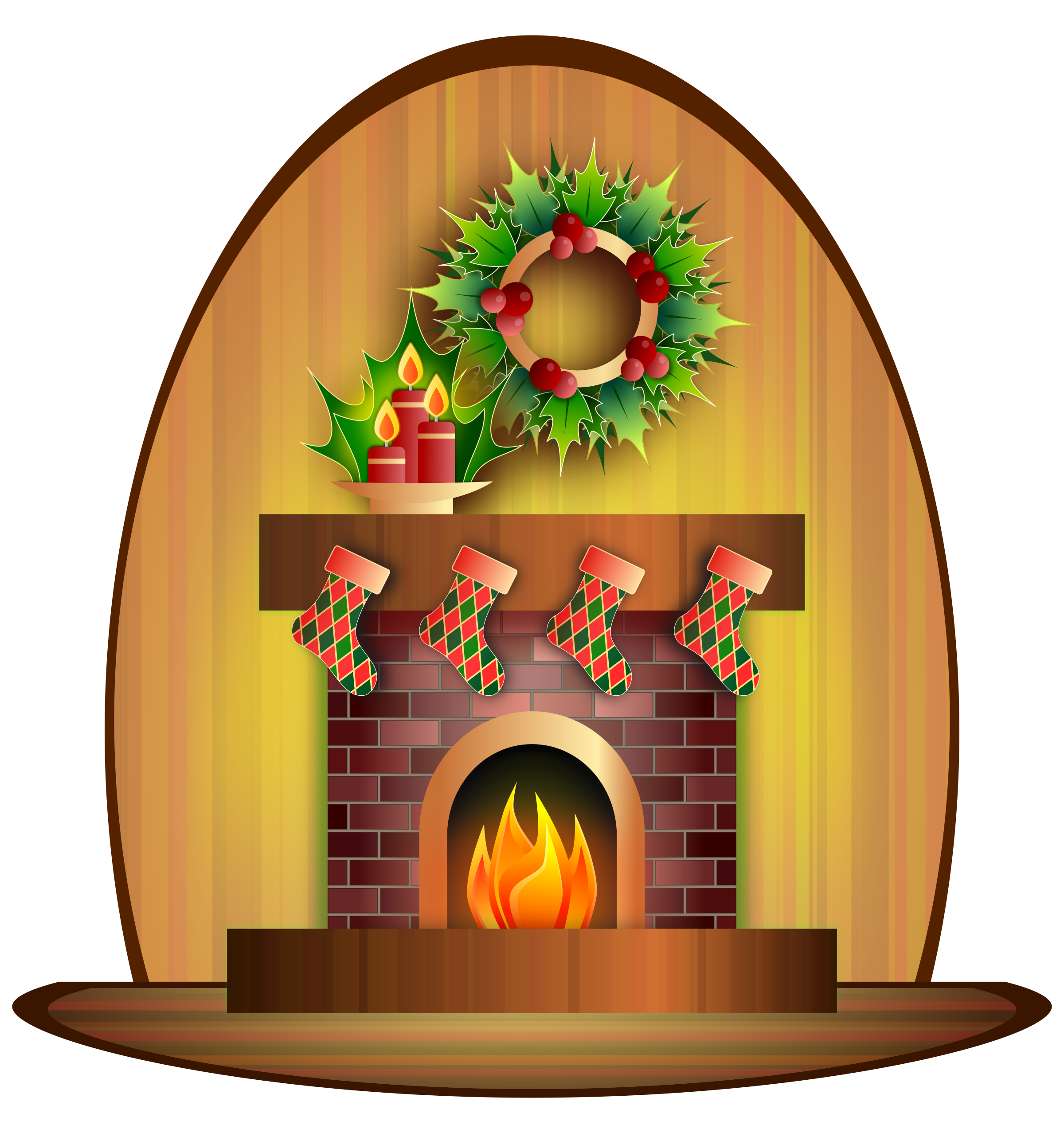 Fireplace clipart christmas fireplace scene Christmas Fireplace Clipart Christmas Fireplace