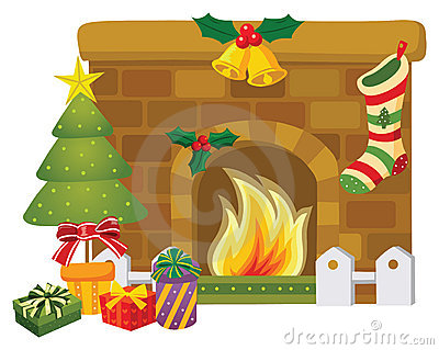 Fireplace clipart christmas fireplace scene Vectors scene Clipart clipart clipart