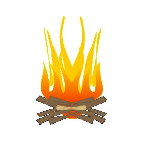 Campfire clipart random – art com fire Camp