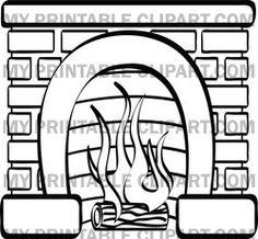Fireplace clipart google image Fireplace stone art Google
