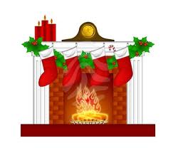 Fireplace clipart hearth Clipart Fireplace Christmas Fireplace Christmas