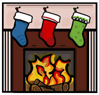 Fireplace clipart holiday Holiday collection Clipart Christmas Free