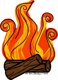 Flames clipart fireplace fire Clipart Panda Free Clipart Fire