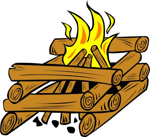 Campfire clipart log fire Clipart Log Clipart Panda Fire