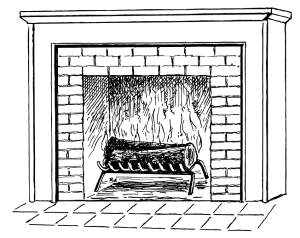 Fireplace clipart old fashioned 5 Fireplace clipartfox Clipartix tumundografico