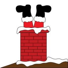 Fireplace clipart santa claus Clipart in on pages coloring