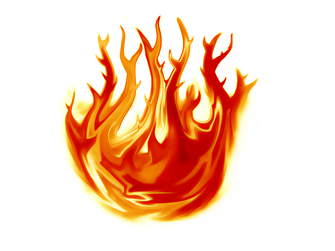Heat clipart free fire To Draw Panda How Flames
