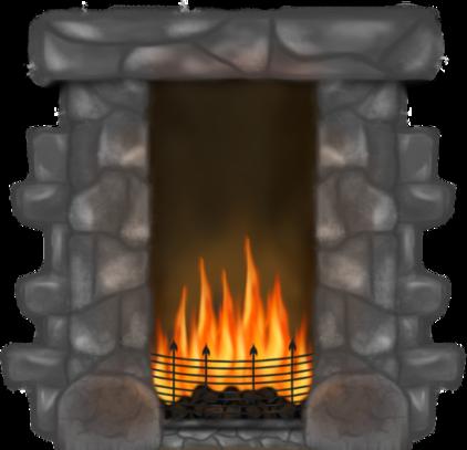 Fireplace clipart transparent Wfi png Clip 07 Art