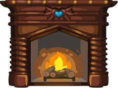 Fireplace clipart transparent Pie Clipart winter fireplace fireplace