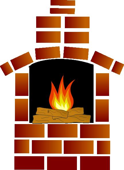 Fireplace clipart transparent Clipart cartoon%20brick%20fireplace Brick Clipart Cartoon