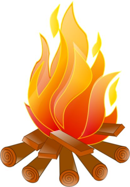 Fireplace clipart wood fire Clip Free Wood Clip Art