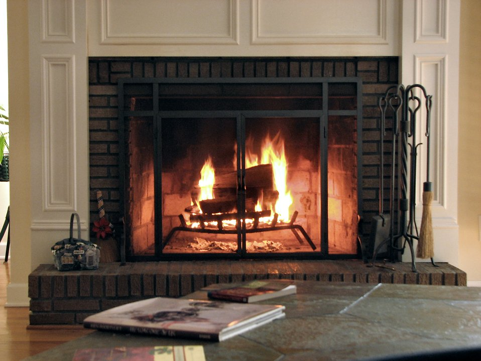 Fireplace clipart wood fire Of County Burning & Wood