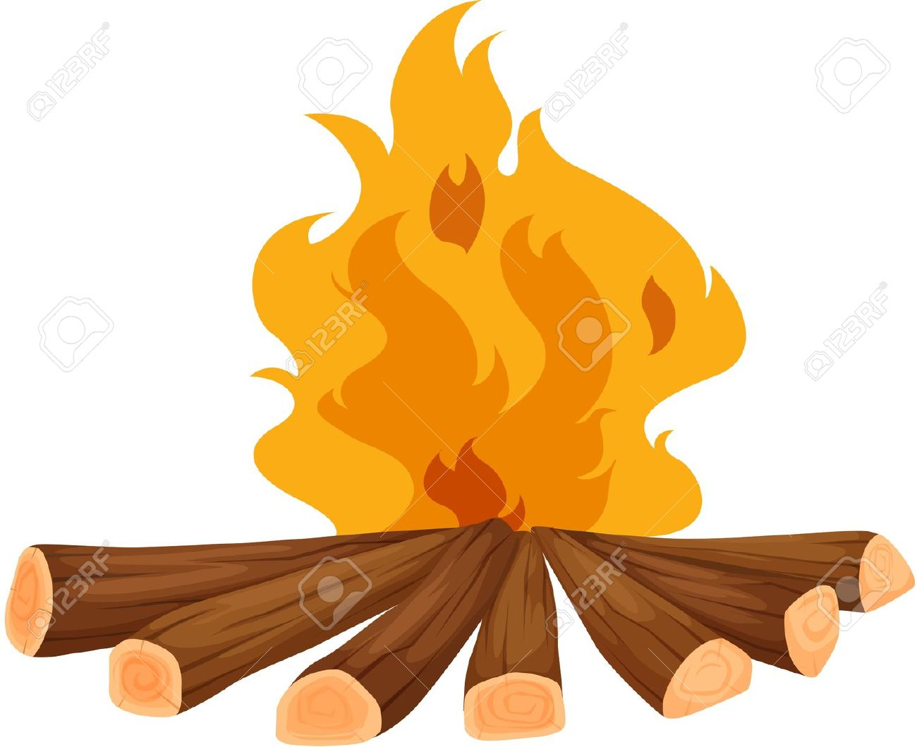 Fireplace clipart wood fire Zone Cliparts Wood wood fire
