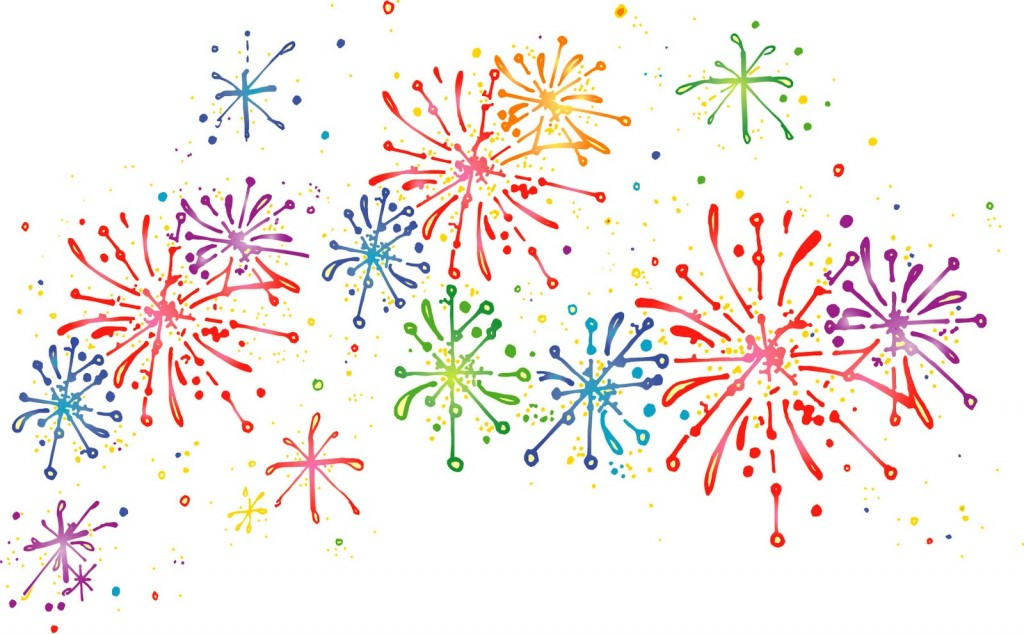Fireworks clipart #8
