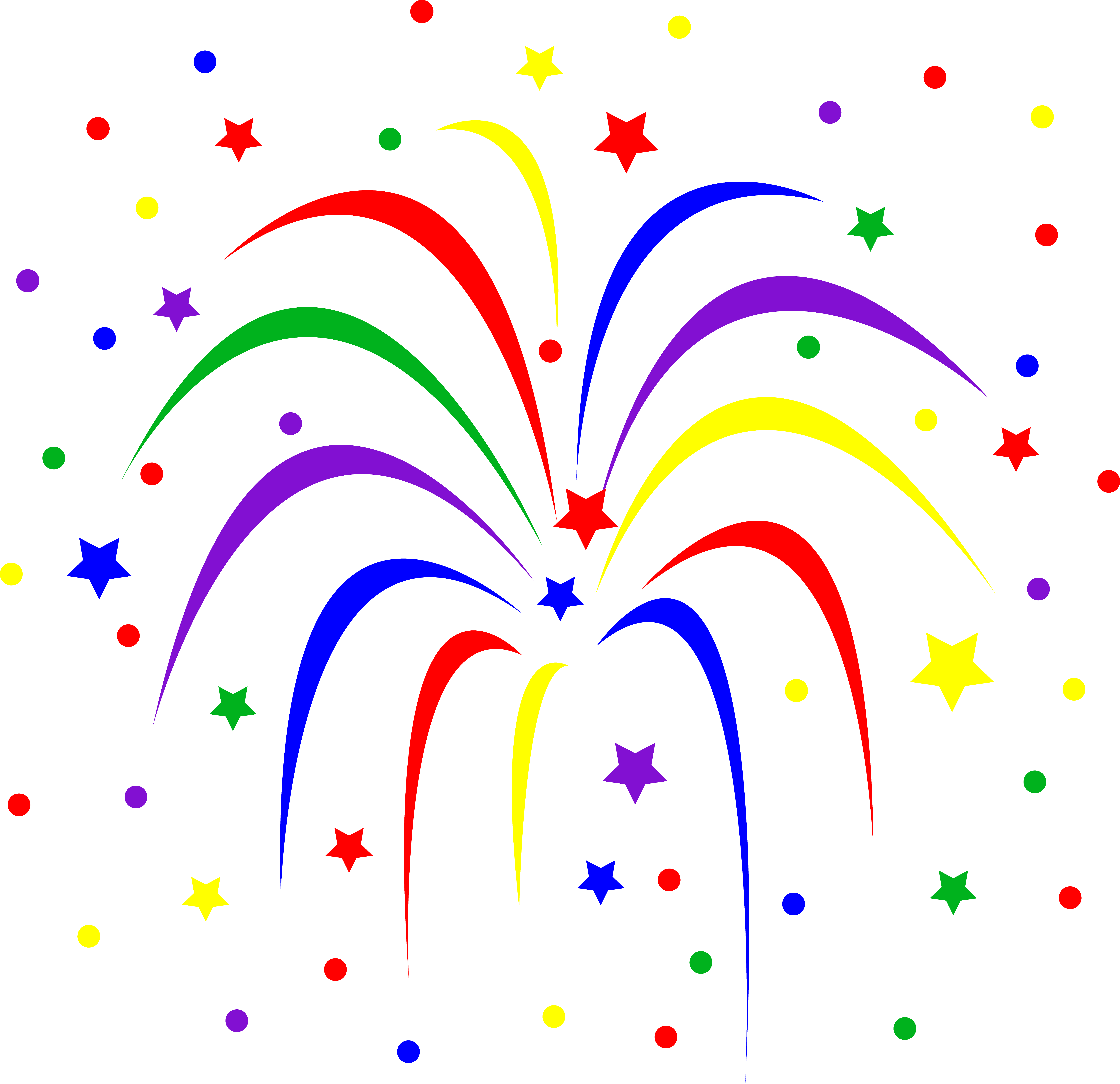 Festival clipart colorful firework Clipart Clipart Background Images Free
