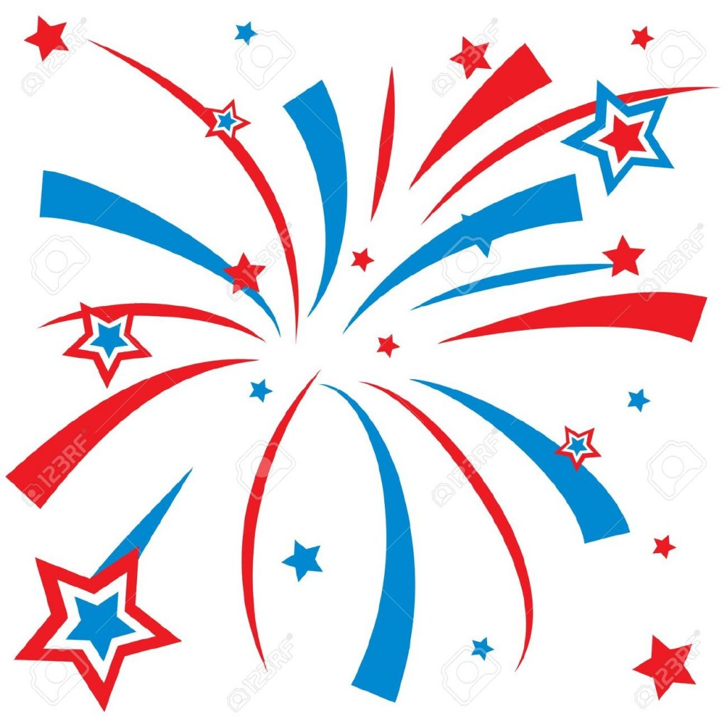 Fireworks clipart #7
