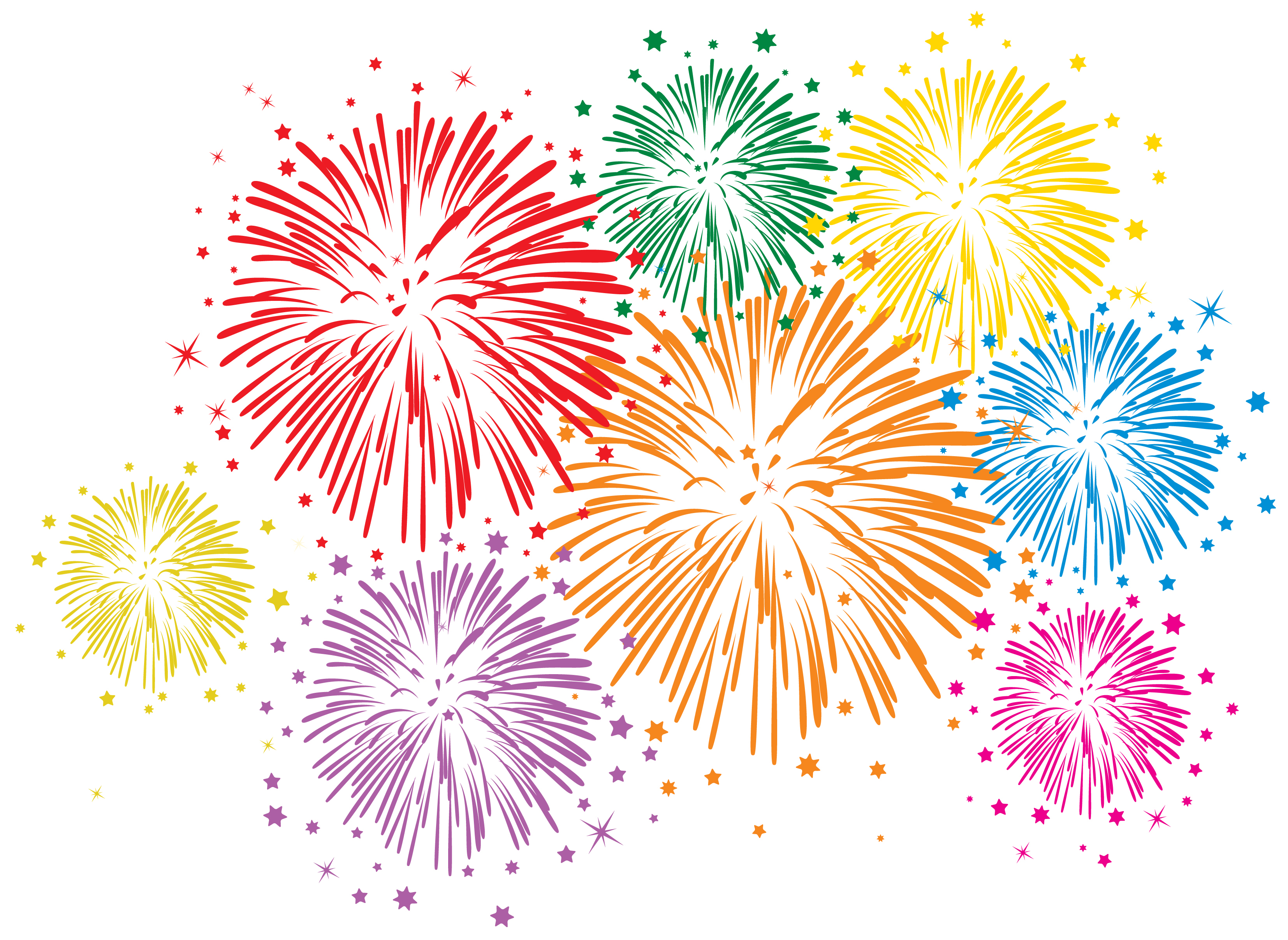 Fireworks clipart #14