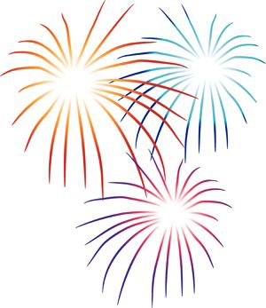 Fireworks clipart Like Fireworks on July Best