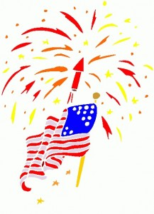 Celebration clipart firecracker July Clipart 4th Border Clipart