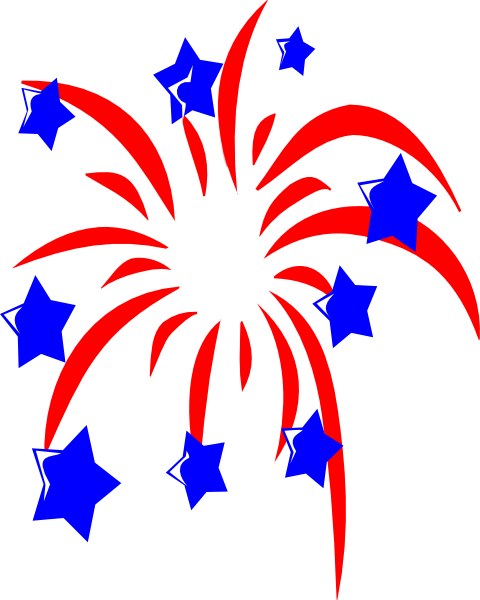 Peace Sign clipart patriotic Clker image vector Red Art