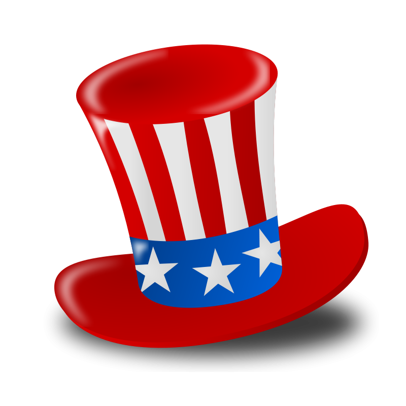 Uncle Sam clipart poster 4th Sams Graphics Free Hat