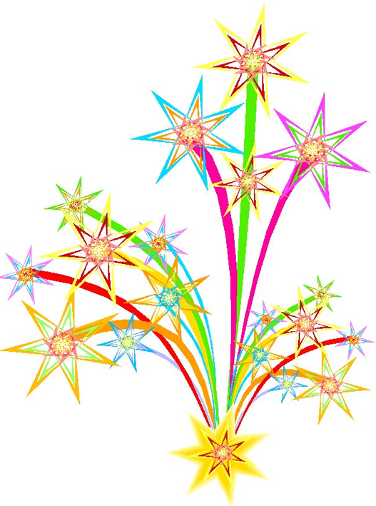 Fireworks clipart animated Art images com clip at