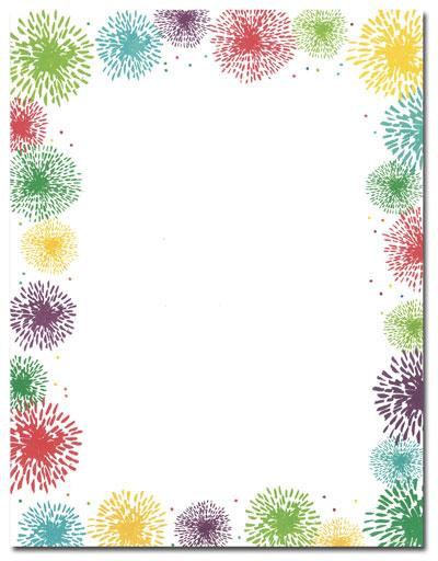 Fireworks clipart border Cliparts cliparts Clipart cliparts Vectors
