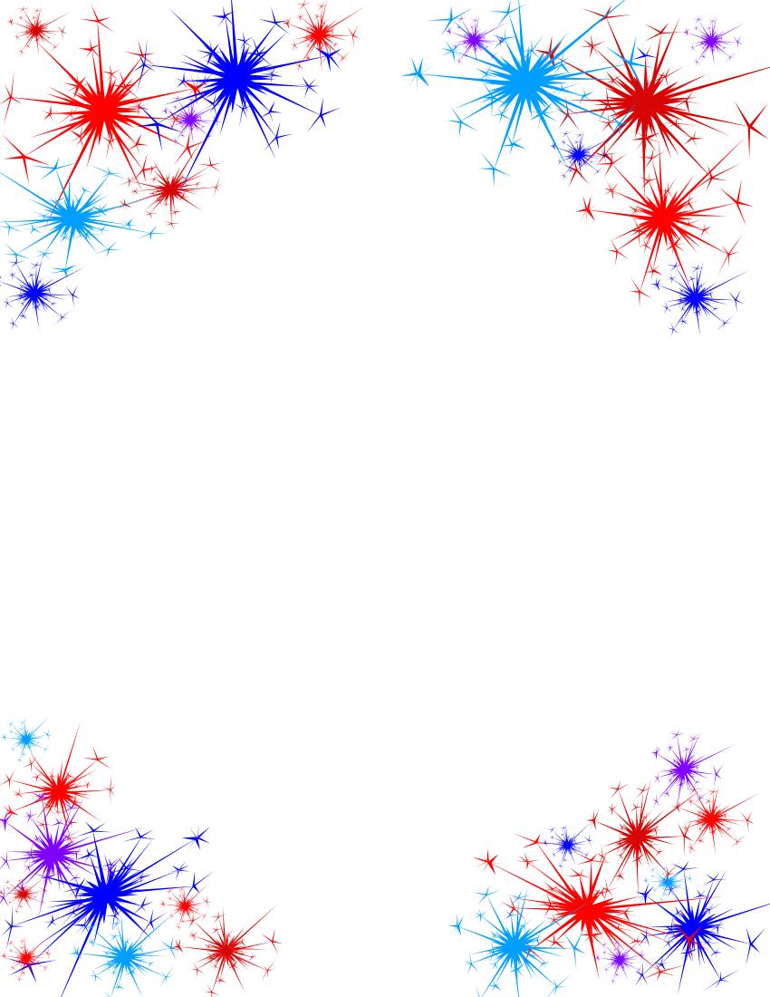 Fireworks clipart border Org fireworks Fireworks clip DownloadClipart