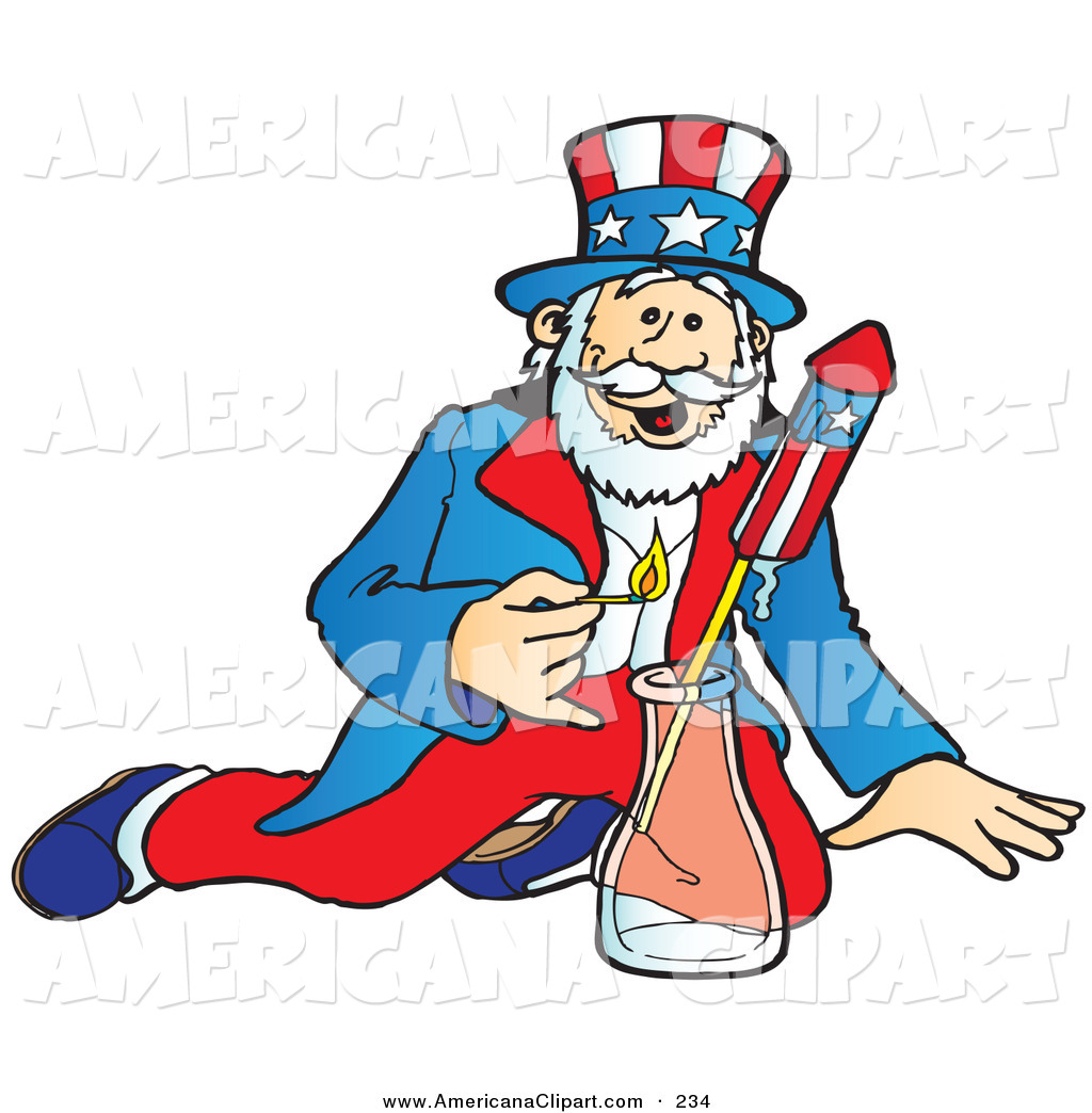 Uncle Sam clipart cute Shooting Patriotic of Sam Patriotic