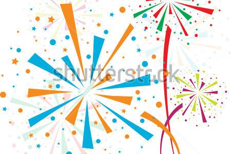Fireworks clipart cartoon Of Fireworks Clipart Clip July