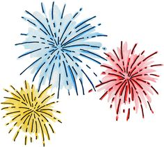 Fireworks clipart cartoon Png Pin Vector art and