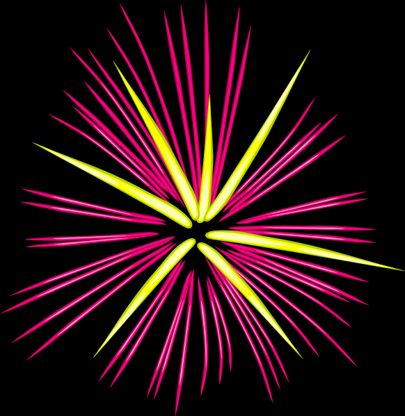 Fireworks clipart cartoon On Clip Clip Cartoon Art