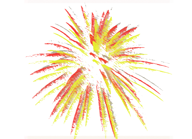 Yellow clipart firework Clipart fireworks clipartbold 1 clip