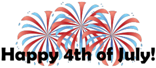 Fireworks clipart colored 4th Clipart Photos July July