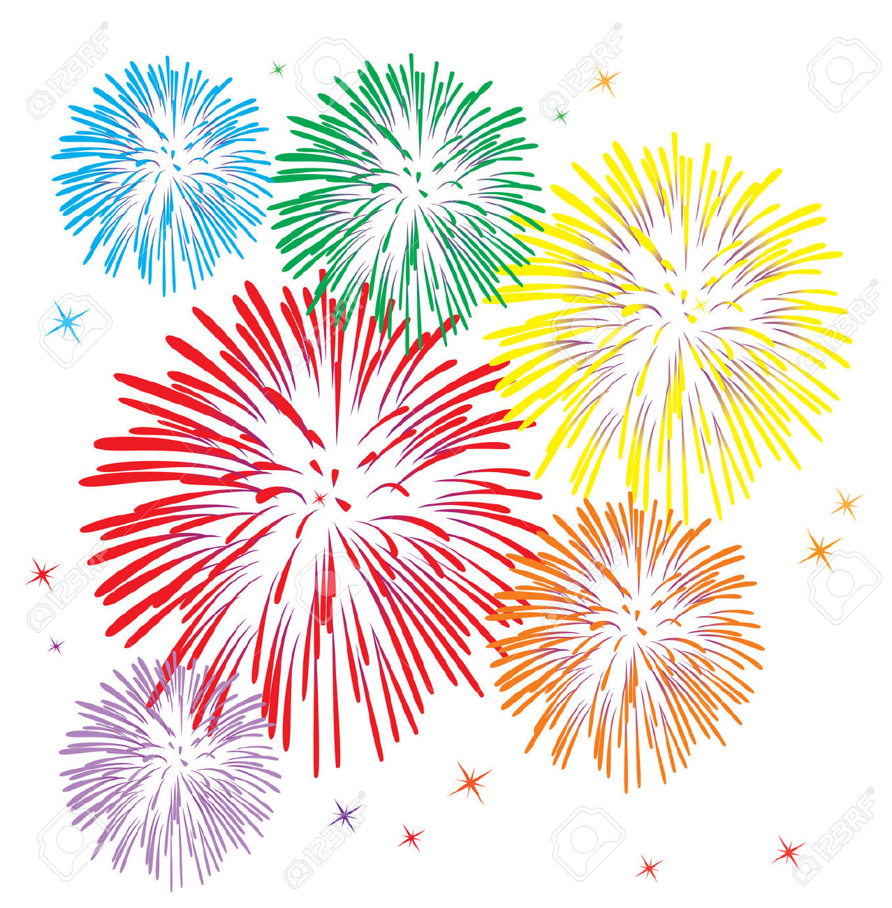 Fireworks clipart colorful firework Download ClipartBarn Fireworks firework clipart