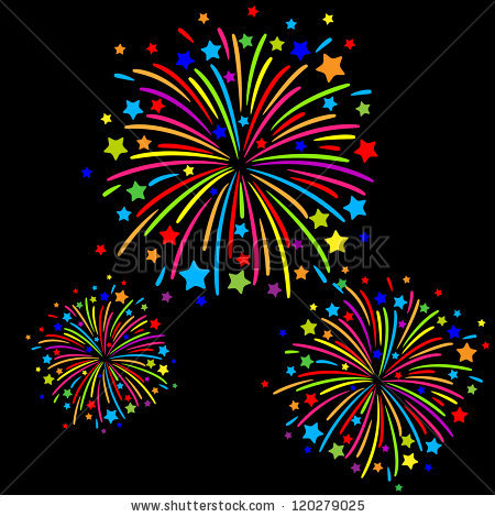 Fireworks clipart colorful firework Stock background firework · Colorful