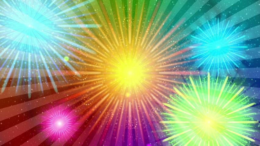 Fireworks clipart colorful firework Images Art Rainbow Colorful Fullhd
